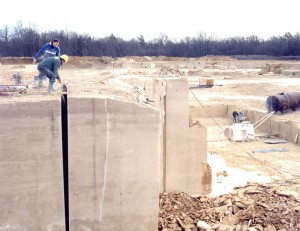 Lifting bags are also used in quarries