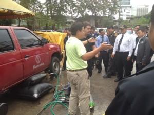 PRONAL Lifting bags bladders: demonstration